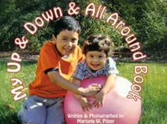 M Up & Down & All Around Book